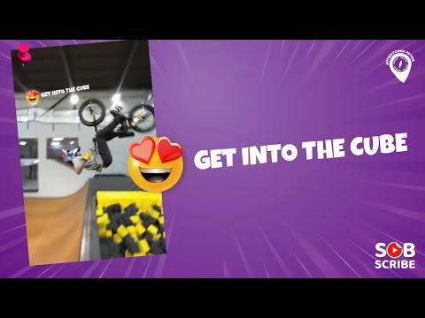 😱 Get Into The Cube | Bike | Bicycle | Bmx Tricks 🔥 ADVENTURES FEVER #shorts thumbnail