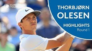 Thorbjørn Olesen Highlights | Round 1 | 2018 Nordea Masters