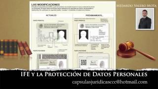 Al Derecho, IFE y la protección de datos personales