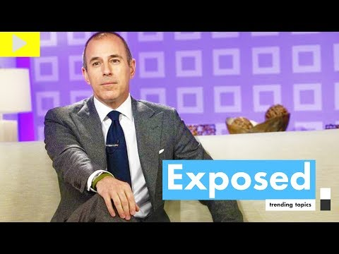 6 Times Matt Lauer Was Pervy on TV, Matt Lauer EXPOSED, Matt Lauer Fired Today Show Sexual Assault