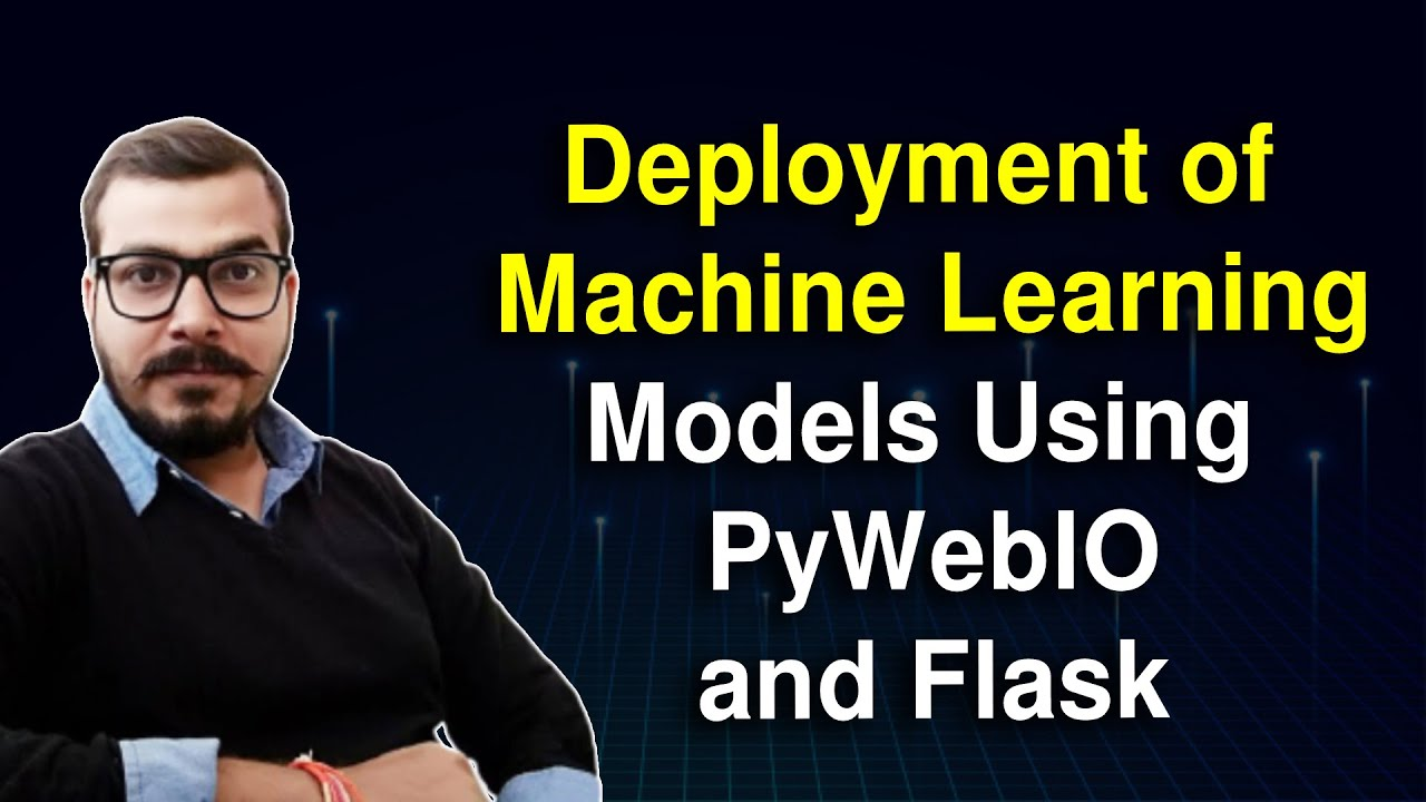 Deployment Of ML Models Using PyWebIO And Flask