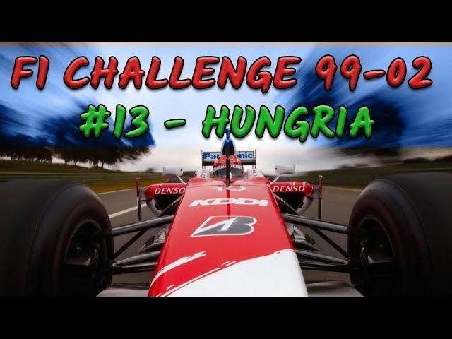F1 Challenge 99-02 - #13 - GP da Hungria - TEMPORADA 2002 - TOYOTA | Jogos Clássicos