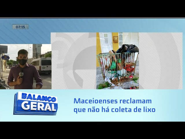 Lixo acumulado: Maceioenses reclamam que não há coleta há uma semana em alguns pontos da capital