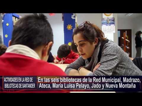 Actividades en la Red de Bibliotecas de Santander