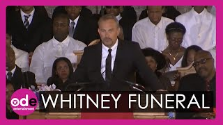 Kevin Costner's emotional speech in full at Whitney Houston's funeral
