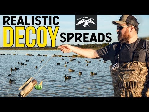 Successful Decoy Spreads: Realistic Layouts And Strategy | Duck Hunting Tips