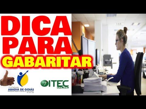 Concurso Abadia de Goiás 2020 Assistente Administrativo Como GABARITAR MELHOR DICA REVELADA ITEC