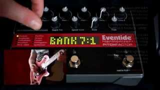 Eventide Pitchfactor Overview & Demo
