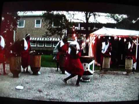 GREAT ARTISTS OF BURUNDI DRUMMERS. Sweeden.  August 2010. Part 1of 2.wmv
