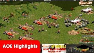 AOE Highlights - Sức mạnh khủng khiếp của team thái Bình
