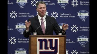GIANTS NEW HC Pat Shurmur's Press Conference