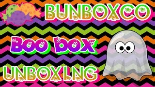 BunBoxCo Boo Box Halloween 2015 Unboxing! (Guinea Pig /Hamster Subscription) thumbnail