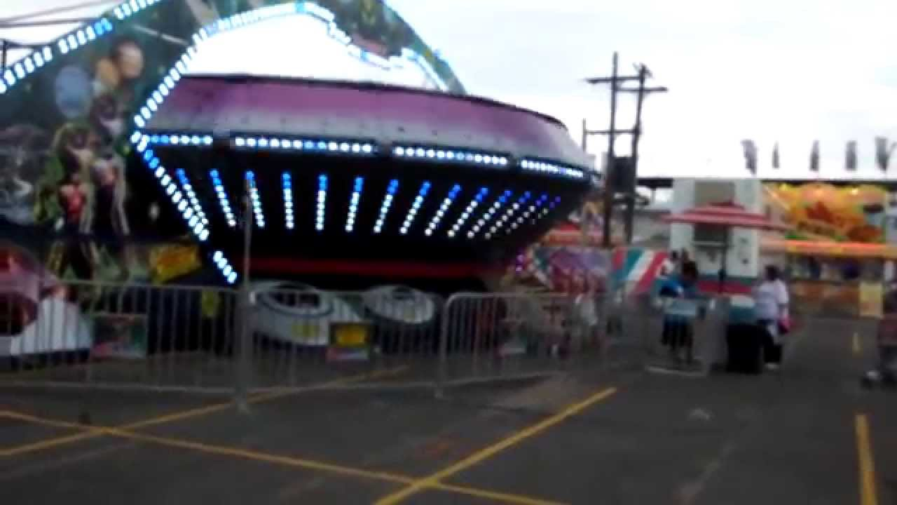Area 51 Lights Are Bright 2015 Kalamazoo County Fair Wade Shows