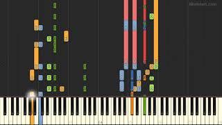 Debbie Gibson - Foolish Beat (Instrumental Tutorial) [Synthesia]