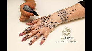 8f5ead9ff0945 Easy and Stylish Henna Tattoo Designs | Polska VIZION.LV
