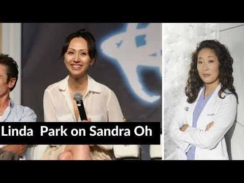 Linda Park on Sandra Oh 67