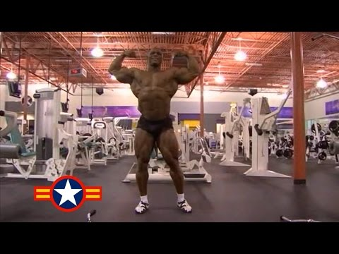 QUINCY TAYLOR  2007 MR.OLYMPIA MOTIVATION