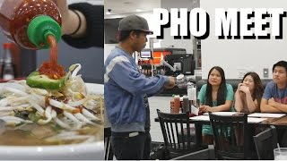 Eating Pho and Meeting Fans. + The History of KyleLe.net
