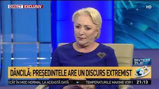 """Viorica Dăncilă, mesaj tranșant la adresa lui Klaus Iohannis: """"Poate nu are ce justifica nici p"""