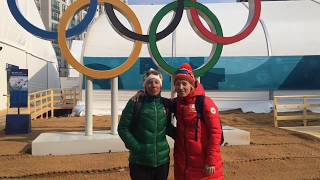 Эксклюзивное поздравление с 23 февраля из Олимпийского Пхенчхана [БЕЛАРУСЬ 4  Могилев]