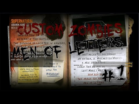 "Custom Zombies | ""Men of Letters"" #1"