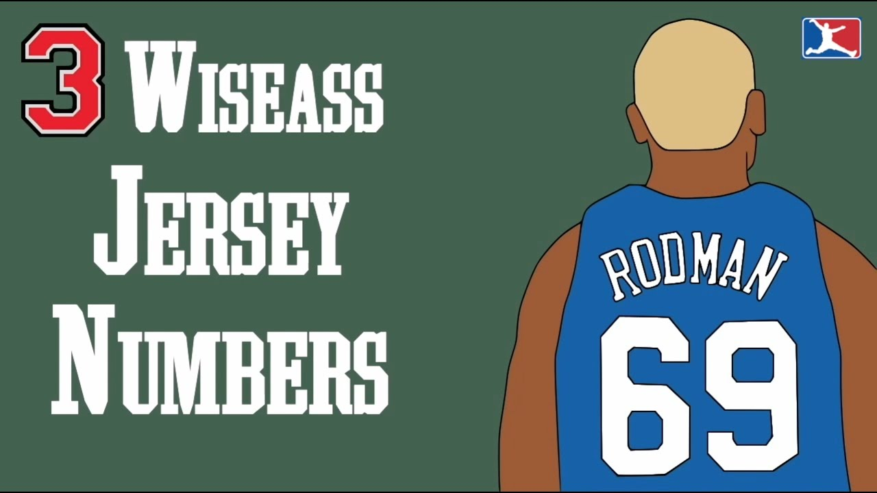 best loved 8f7be 8e2c6 3 NBA Players and Their Wiseass Jersey Numbers