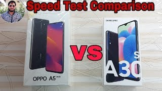 Oppo A5 (2020) vs Galaxy A30s Speed Test Comparison?