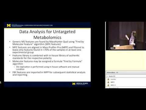 Untargeted Metabolomics, Maureen Kachman