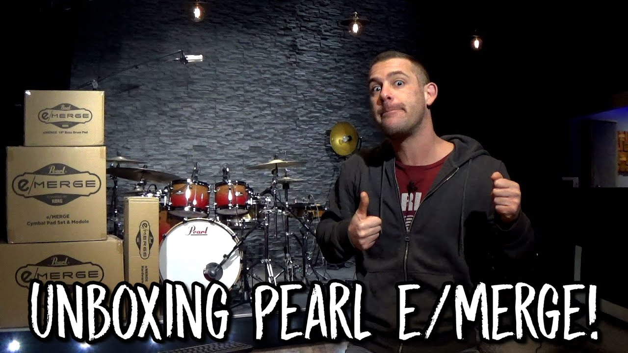 Unboxing Pearl e/Merge !