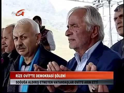 Kanal G -Ovit Yaylası Demokrasi Şöleni