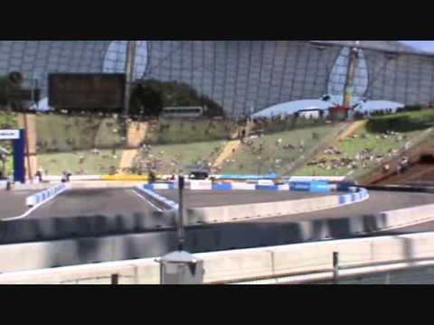 DTM München Oliver Jarvis v.s. Edoardo Mortara Audi A4