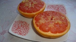 Запеченный грейпфрут. ЖИРОСЖИГАЮЩАЯ И ВИТАМИННАЯ БОМБА!