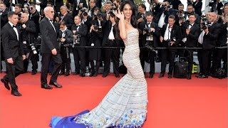 Cannes 2016 | Mallika Sherawat's Stunning Yet Safe Red Carpet Appearance