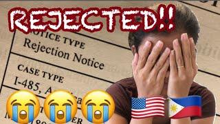Filipina USA Green Card 2018 Application Rejected