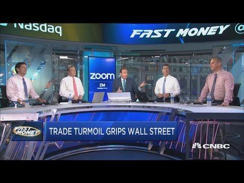Fast Money Final Trade >> Trade Turmoil Rocking Wall Street