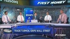 Trade turmoil rocking Wall Street