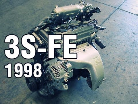 Normal sound of properly operating 3SFE engine  Работа