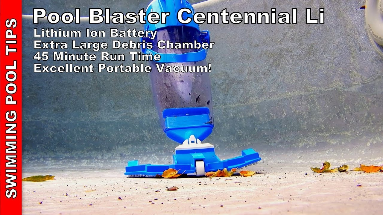 Pool Blaster Catfish Zubehör Pool Blaster Centennial Li Battery Powered Vacuum Best In Class