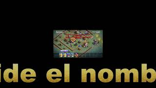Jugando Clash OF Clans ¡ Mi Primer Victoria En mi Video ¡