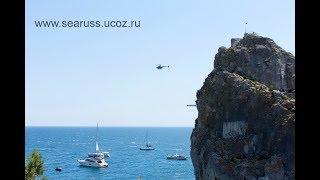 Крым Симеиз 18.08.18 Клифф дайвинг 27 метров, Дива. Cliff Diving World Cup. Crimea