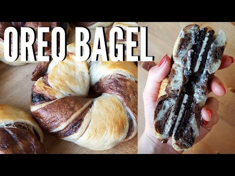 OREO BAGELS // Recipe + Taste Test