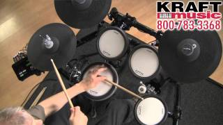 Kraft Music - Yamaha DTX562K Electronic Drum Set Demo with Tom Griffin
