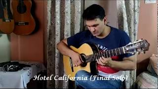 Hotel California Acoustic ( Final Solo)