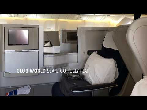 British Airways Club World To Mexico City