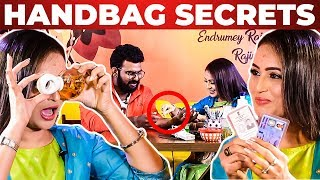 Vj Ashiq's SKIN Test Result Revealed by Mounika | Vijay TV Avalum Naanum | What's Inside The HANDBAG