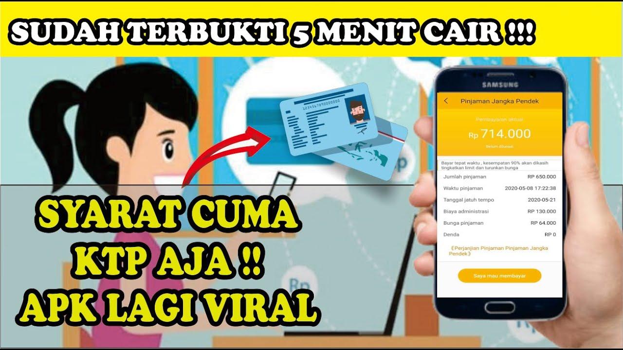 3 Aplikasi Pinjaman Online Langsung Cair Cuma Pakai Ktp Syarat Mudah Apk Nya Gampang Cair Youtube