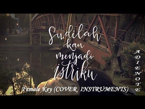 Payung Teduh - Akad (Female Key Karaoke - Cover AdieNote Instruments)