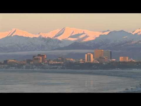2010-12-09 Skyline Sunset Anchorage, AK