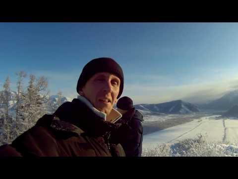 Алтай, (Мульта) НЛО в горах, встретили новый год под елкой!