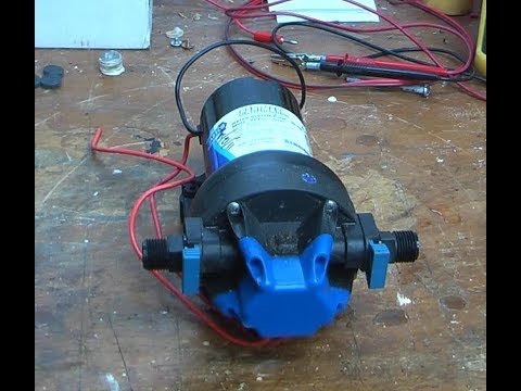 jabsco fresh water pump failure - youtube  youtube